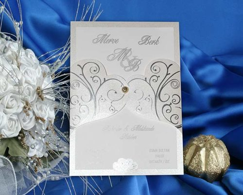 Hochzeitskarte Bertha 01