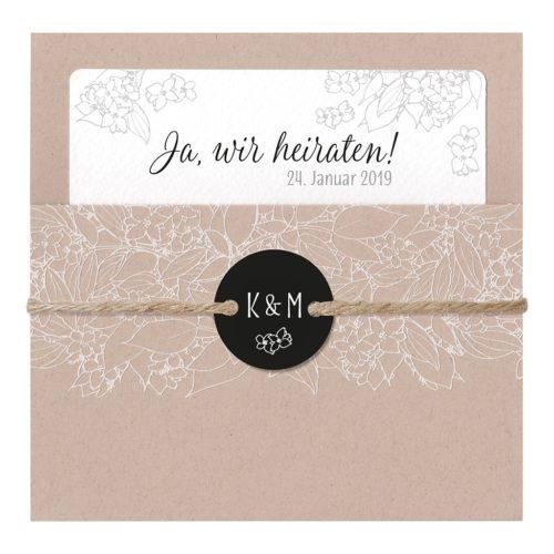 Hochzeitskarte Binti 01