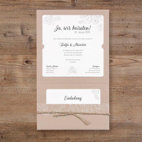 Hochzeitskarte Binti 02