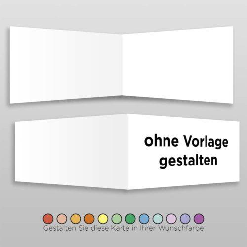 Hochzeitskarte Blanko D-4S1