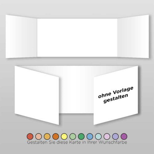 Hochzeitskarte Blanko D-6S1