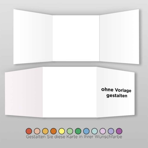 Hochzeitskarte Blanko Q-6S1