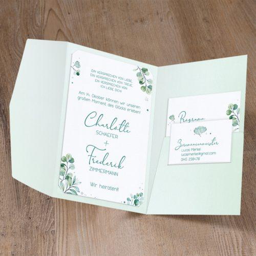 Hochzeitskarte Chidori 02