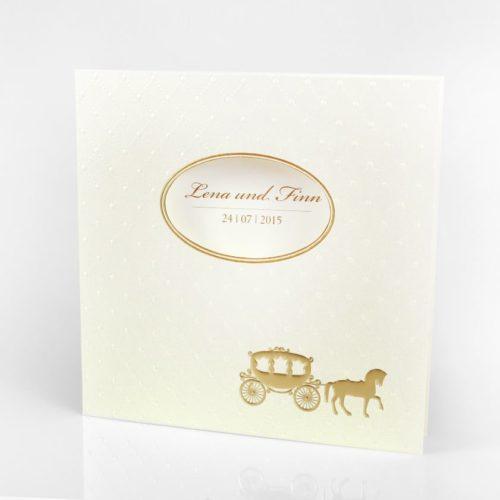 Hochzeitskarte Cinderella