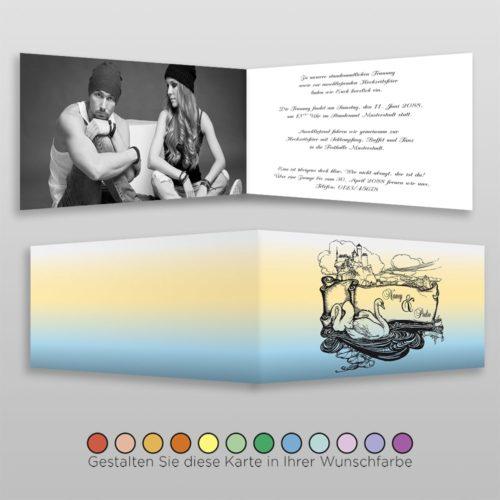 Hochzeitskarte Cindi D-4S