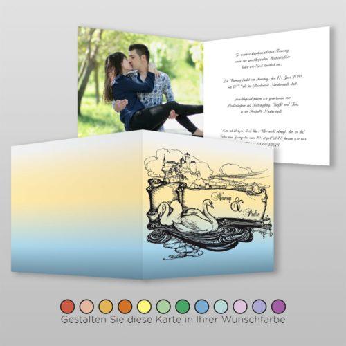 Hochzeitskarte Cindi Q-4S