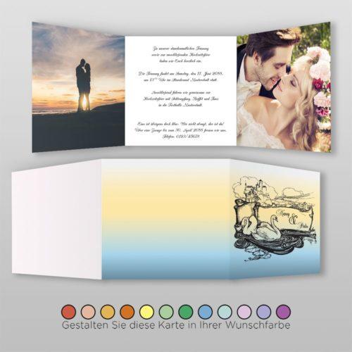 Hochzeitskarte Cindi Q-6S