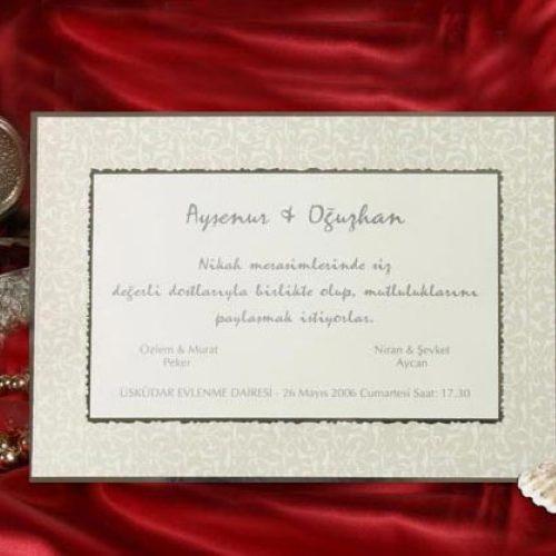 Hochzeitskarte Corrie