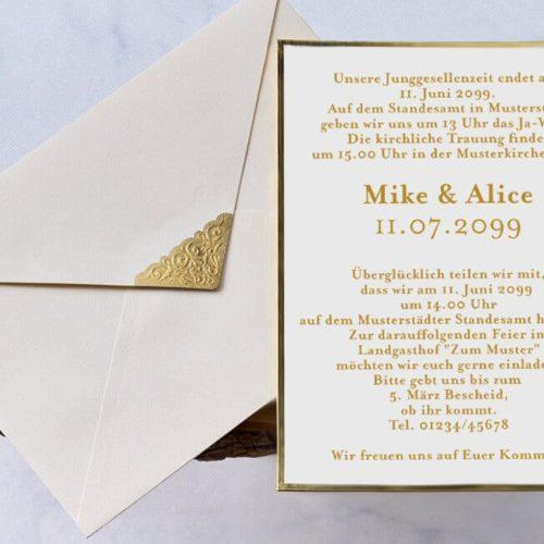 Hochzeitskarte Cyb 1