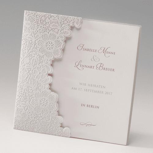 Hochzeitskarte Cynthie 01