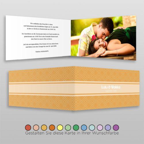 Hochzeitskarte D-4S Alexa 01