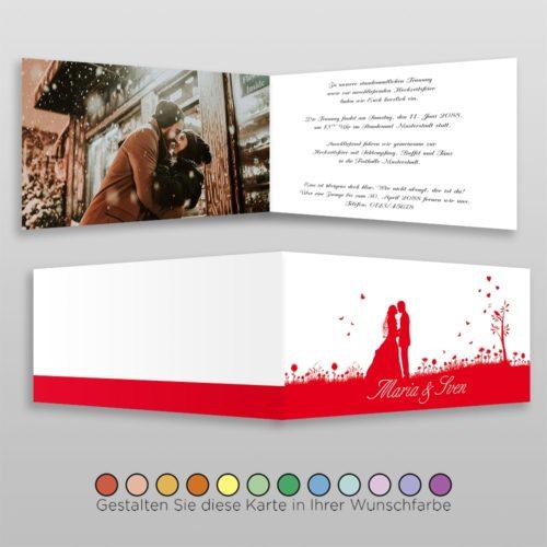 Hochzeitskarte D-4S Yen 02