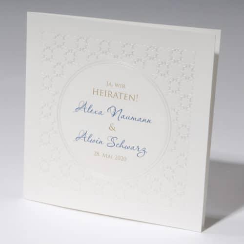 Hochzeitskarte Danita