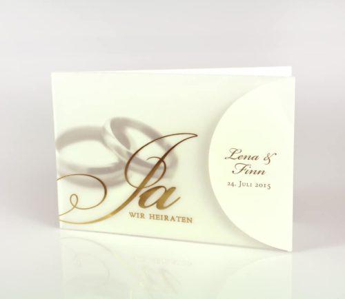 Hochzeitskarte Darice 01