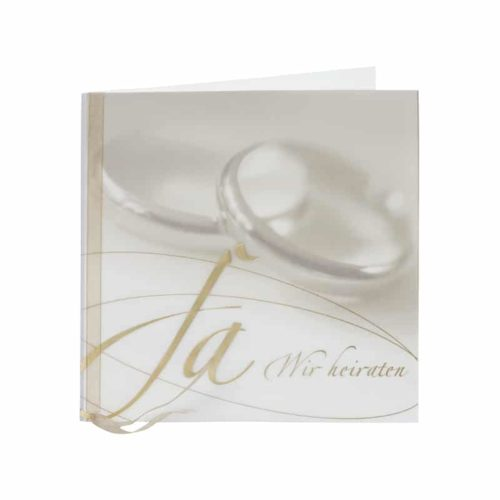 Hochzeitskarte Etti 1