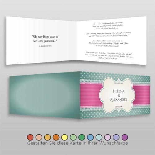 Hochzeitskarte Eva D-4S