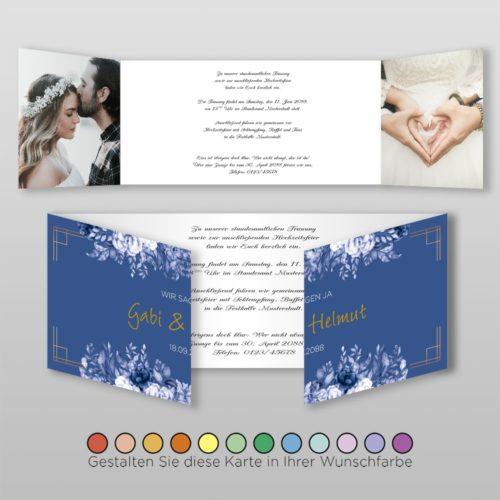Hochzeitskarte Felicia D-6S