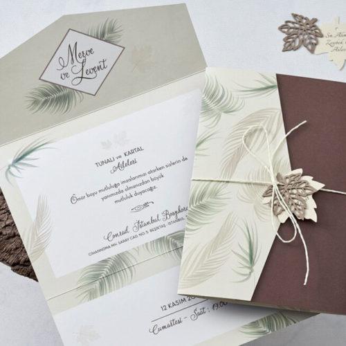 Hochzeitskarte Giana 01