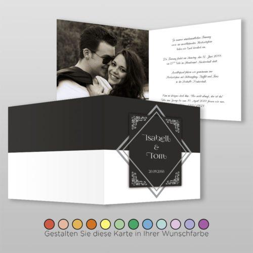 Hochzeitskarte Gwen Q-4S