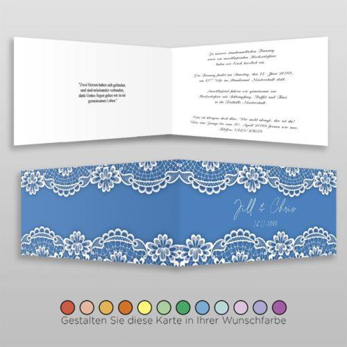 Hochzeitskarte Hanna D-4S
