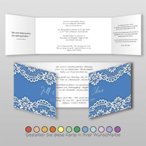 Hochzeitskarte Hanna D-6S