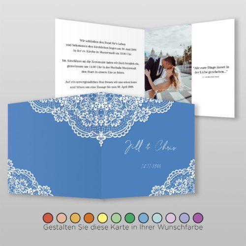 Hochzeitskarte Hanna Q-4S