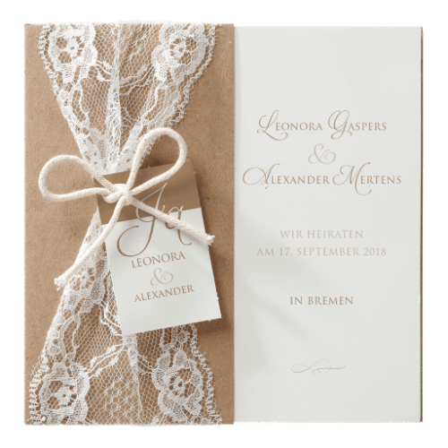 Hochzeitskarte Ilida 01