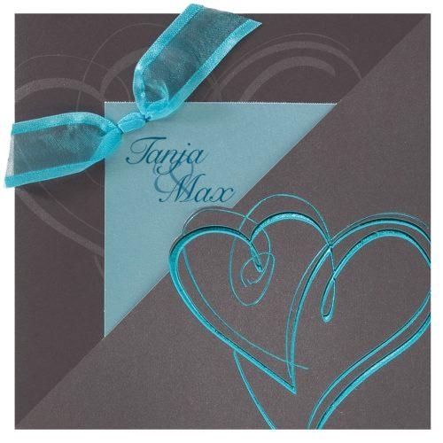 Hochzeitskarte Ines 01