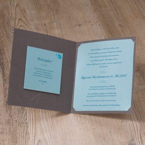 Hochzeitskarte Ines 02