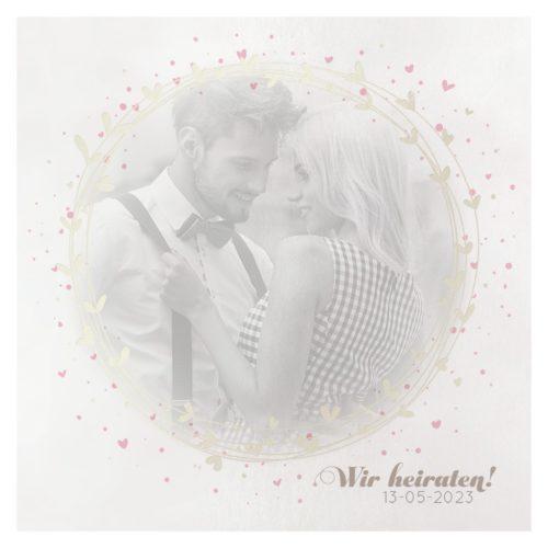 Hochzeitskarte Izabella 01