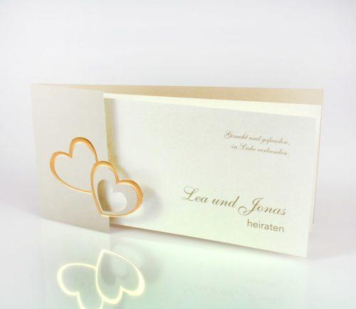 Hochzeitskarte Jasmin 01