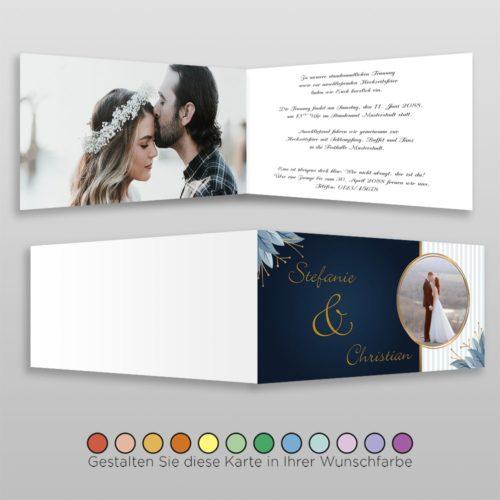 Hochzeitskarte Jill D-4S 02