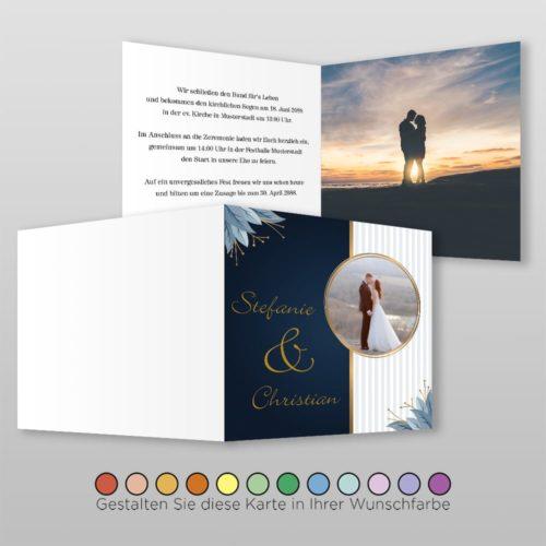Hochzeitskarte Jill Q-4S 02