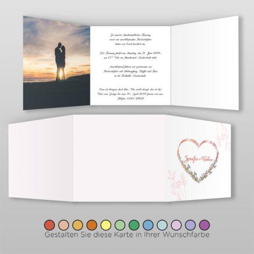 Hochzeitskarte Lory Q_6S