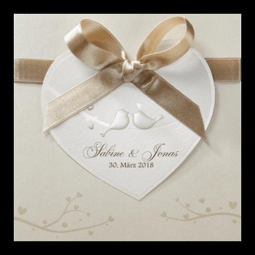 Hochzeitskarte Luana 01