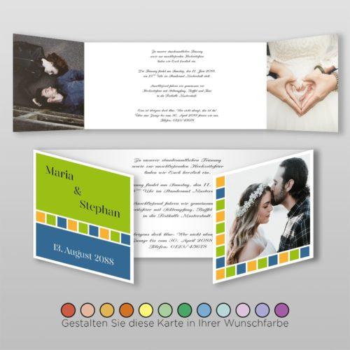 Hochzeitskarte Lydia D-6S