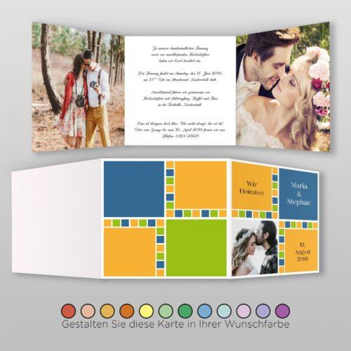 Hochzeitskarte Lydia Q-6S