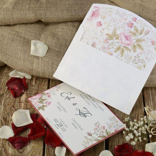 Hochzeitskarte Nivet