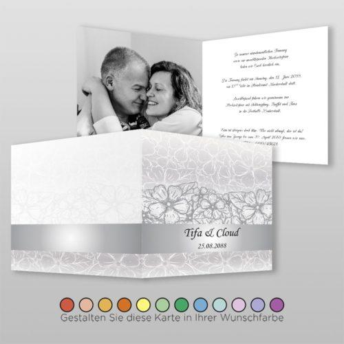 Hochzeitskarte Nora Q-4S