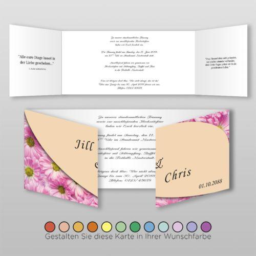 Hochzeitskarte Olga D-6S