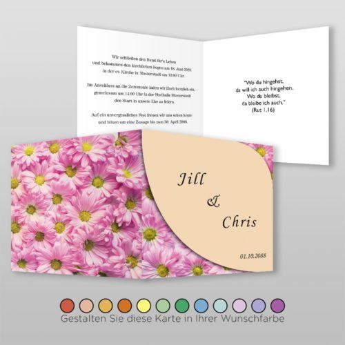 Hochzeitskarte Olga Q-4S
