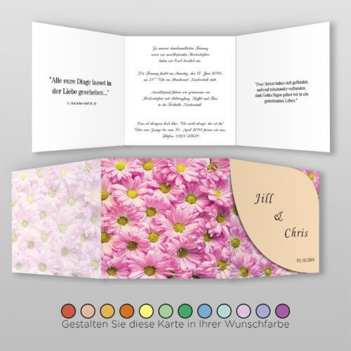 Hochzeitskarte Olga Q-6S