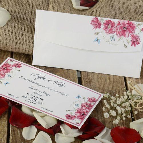 Hochzeitskarte Ornina