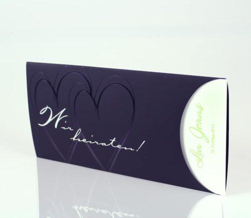 Hochzeitskarte Pamila 01