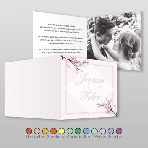 Hochzeitskarte Q-4S Greta 02