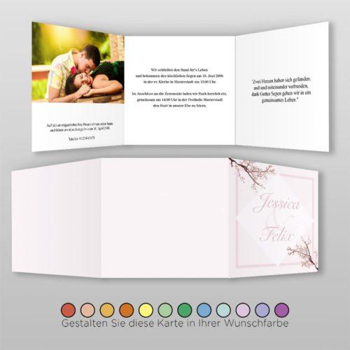 Hochzeitskarte Q-6S Greta 02