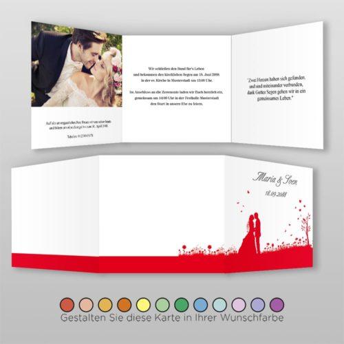 Hochzeitskarte Q-6S Yen 02