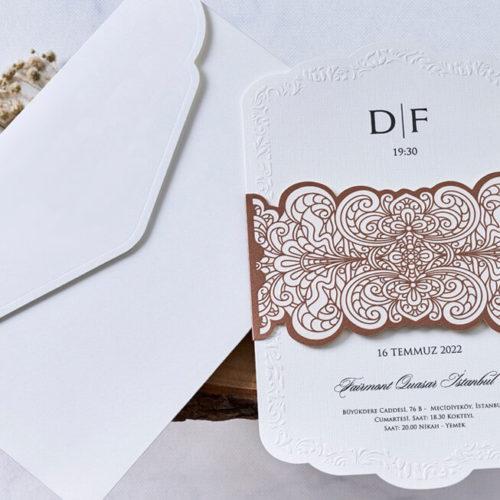 Hochzeitskarte Quella