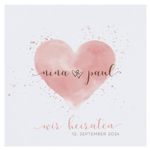 Hochzeitskarte Reika 01