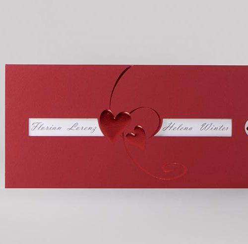 Hochzeitskarte Renette 01